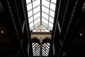 architecture dark vacation hallway