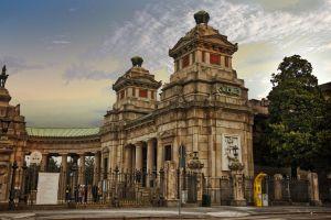 architecture historic building gate landmark baroque ancient facade