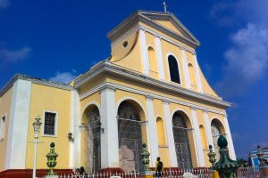 architecture yellow church cuba