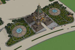 asean building asian landmark life buddhist architect temple dark asia