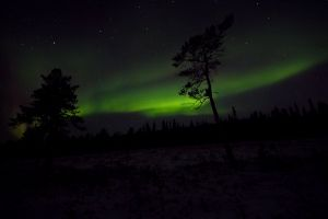 aurora borealis nightscape surreal astronomy northern lights outdoorchallenge night sky stars planet atmosphere