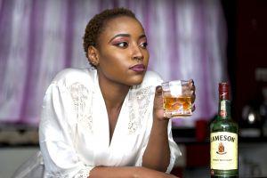 bar alcohol beverage glass liquid blur liquor drink woman nightlife