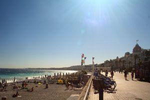beach road sun beach mediterranean mediterranean sun nice mediterranean sea france europe
