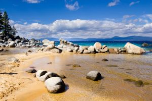 beach sandy ridge beach lake tahoe