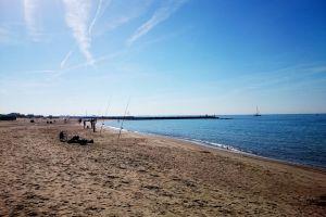 beach summertime clear sky summer mediterranean sea beachlife
