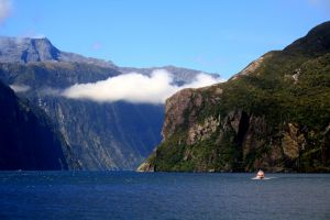 beautiful milford scenary milford sound sound nature mother nature fjord new zealand