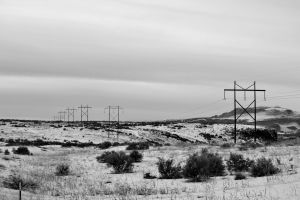 black-and-white electricity black and white snow transmission tower sky power lines
