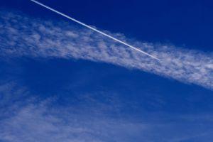 blue sky clouds sky