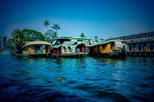 boats nature photography night love add a location kerala greenery water allepy best blue