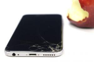 broken glass broken crack iphone apple