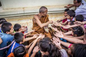 buddhism buddhist asia boys adult daytime monk wear young kids