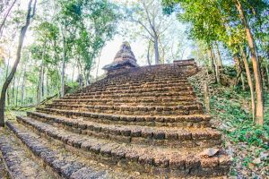 building world sukhothai architecture sculpture stupa structure exotic sri satchanalai national park ancient