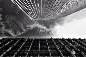 buildings clouds architecture glass low angle photography city futuristic windows steel tall