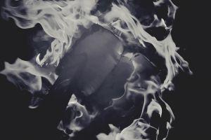 burning oppressin art ash fire destruction smolders black and white