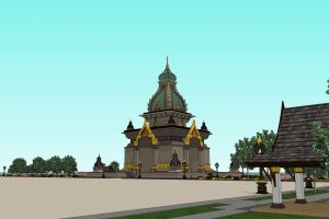 city faith pha god sky vientiane temple day architecture architect
