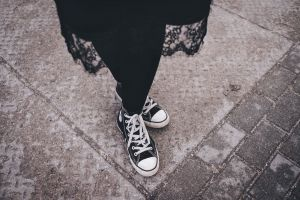 close-up road wear street pavement fashion footwear sneakers person urban
