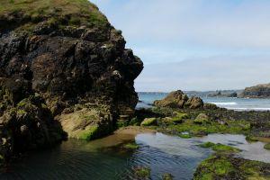 coast line ireland coast coastline low tide sea rocky coast