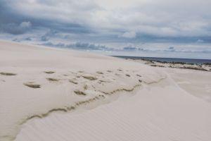 coast sands poland beach seaside desert nature sky