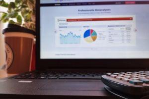 coffee analytics calculator statistics search engine optimization online marketing digital marketing google analytics laptop marketing