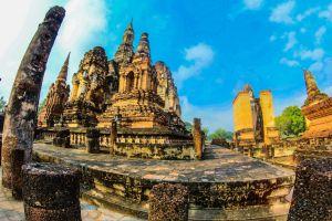 culture faith buddhism tropical buddhist religious landmark thailand stupa park