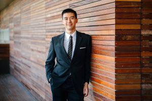 day wear facial expression handsome smile formal businessman adult portrait short hair