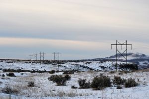 daytime power supply sky winter snow cold transmission line transmission tower