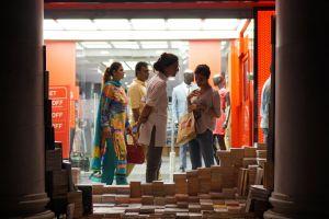 delhi curious books street india street market