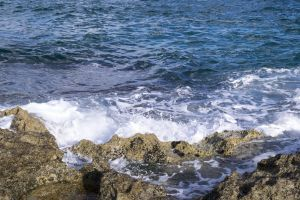 desktop backgrounds adriatic desktop wallpaper sea sunny day italy rocks wallpaper