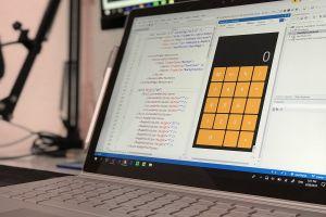 document designer statistics commerce laptop finance electronics calculator design data