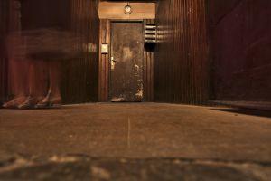 door floor night broken vintage entrance