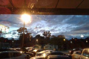 dramatic sky evening sky offset sunset parking lot sunset