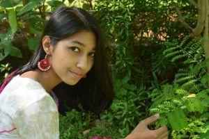 flower garden flower smile