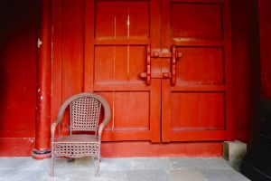 free photo red door chinese architecture architecture free image
