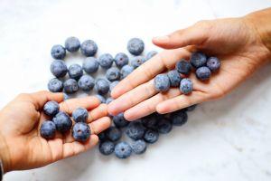 fresh food hands healthy color nutrition fresh fruit delicious juicy berries