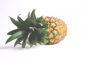 freshness depth of field healthy close-up juicy tropical tropical fruit pineapple food fruit