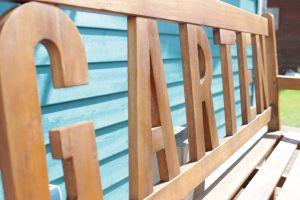 garden home exterior bench