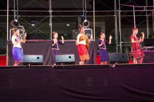 girl jewelry female culture tradition tuk beautiful temple salavan bang