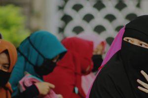girl woman muslim model niqab
