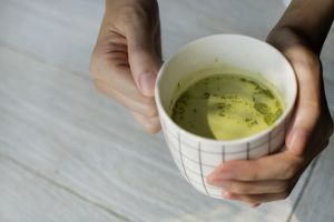 green tea blur healthy lifestyle cup caffeine hot drink lunch mug beverage