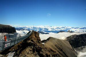 gstaad snow mountain snow snow capped mountain nature swiss alps switzerland mountain