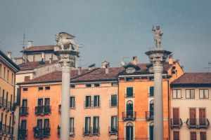 italy buildings vicenza sky
