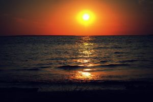 lake sunset #outdoorchallenge sunset