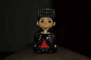 landscape darkbackground collection miniature toy