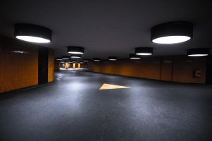 lights orange underground city urban metro berlin concrete