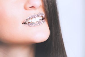 lips close-up hair photoshoot lady skin teeth female girl woman