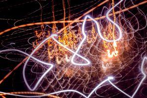 long exposure night light trails lights