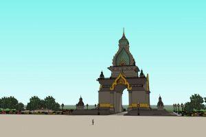 luang buddhism architecture architect faith thailand capital religion buddhist buddha