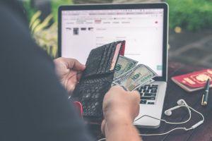 man technology wallet close-up paper money money person green cash pen
