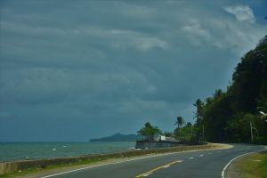 minimalistic road sea minimalism sea shore minimalist