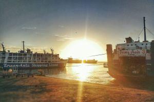 #mobilechallenge sunrise #outdoorchallenge pier